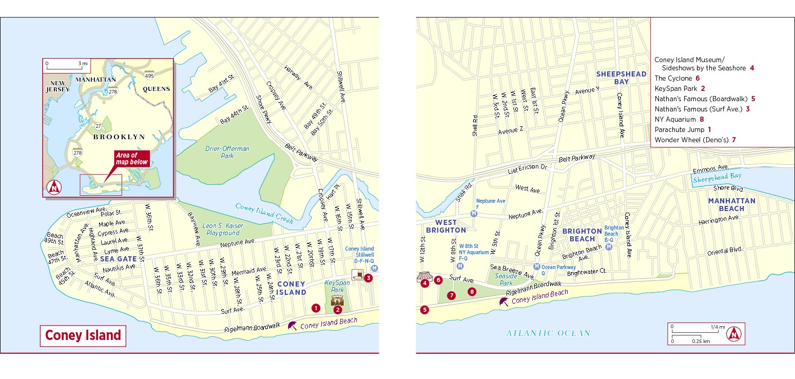 Maps Of Tourist Attraction Places